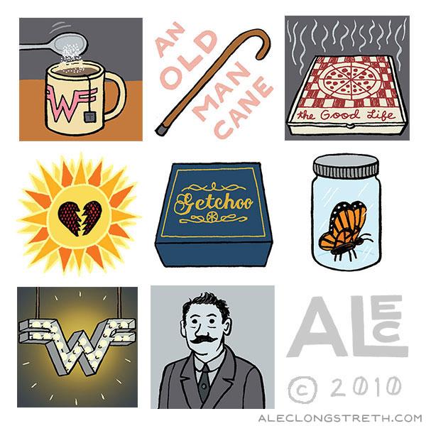 Alec Longstreth Illustration Blog: Weezer Icons: Pinkerton.