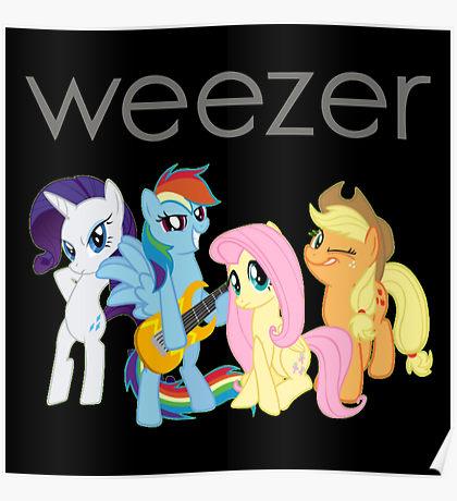 Weezer Official Merchandise: Posters.