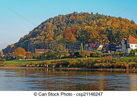 Stock Foto von Herbst, schweiz, deutschland, saxon.