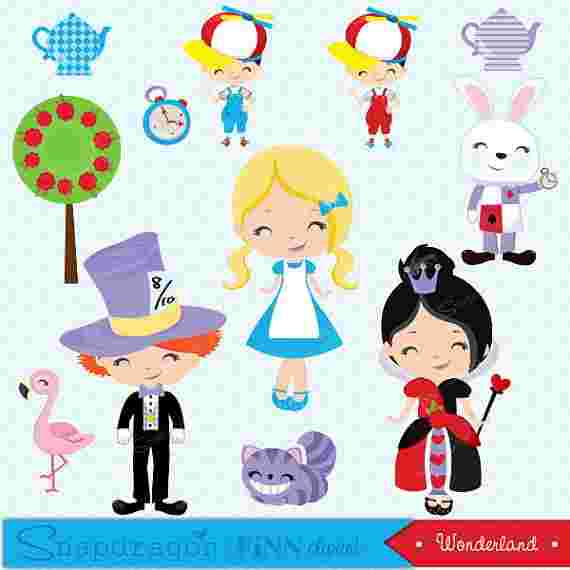 Best Cliparts: Are You Alice Tweedles Clipart.