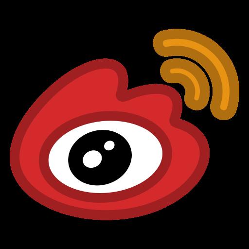 Weibo icon.