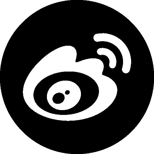 Weibo social logo Icons.