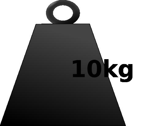 10 Kg Weight Clipart.