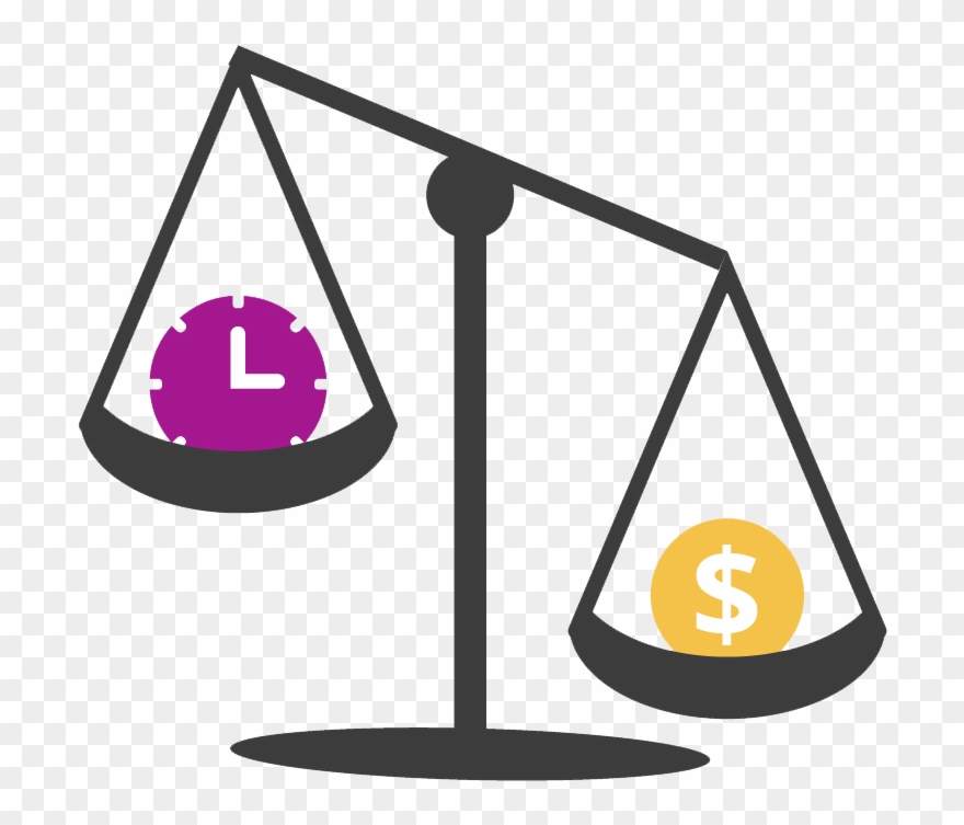 An Illustration Depicting The Need To Weigh Up The Clipart (#2484940.