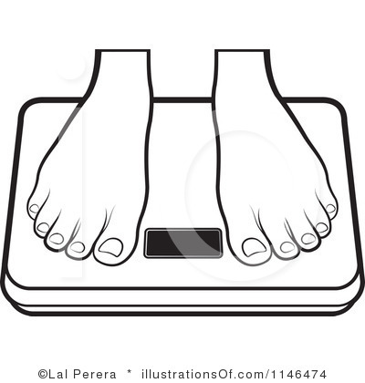 Weigh in Clip Art.