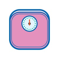 Body Weighing Scale Clipart.