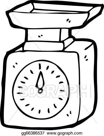 Clipart Of Weighing Scale.