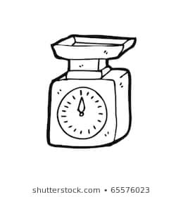 Weighing scale clipart black and white 3 » Clipart Portal.
