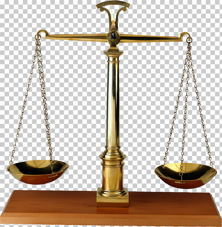 Lady Justice Weighing scale , The balance of justice, gold.