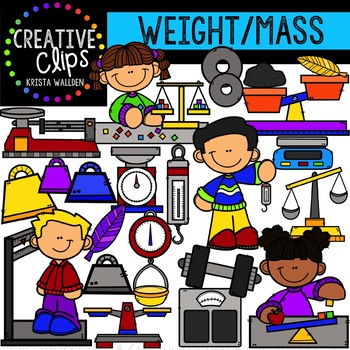 Weight and Mass: Measurement Clipart {Creative Clips Clipart}.