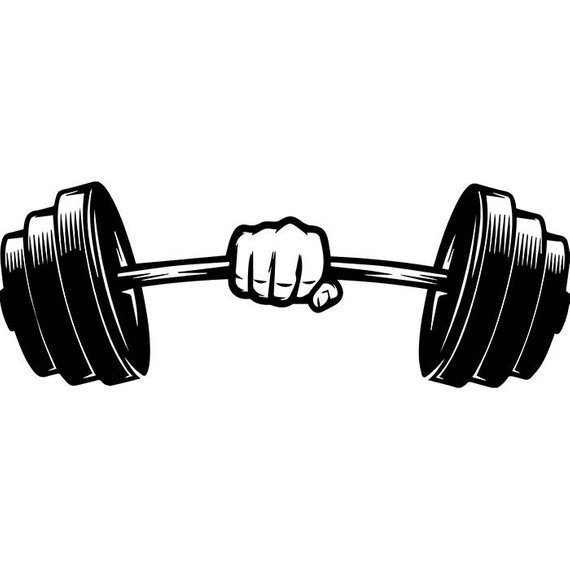 Weight bar clipart 2 » Clipart Portal.