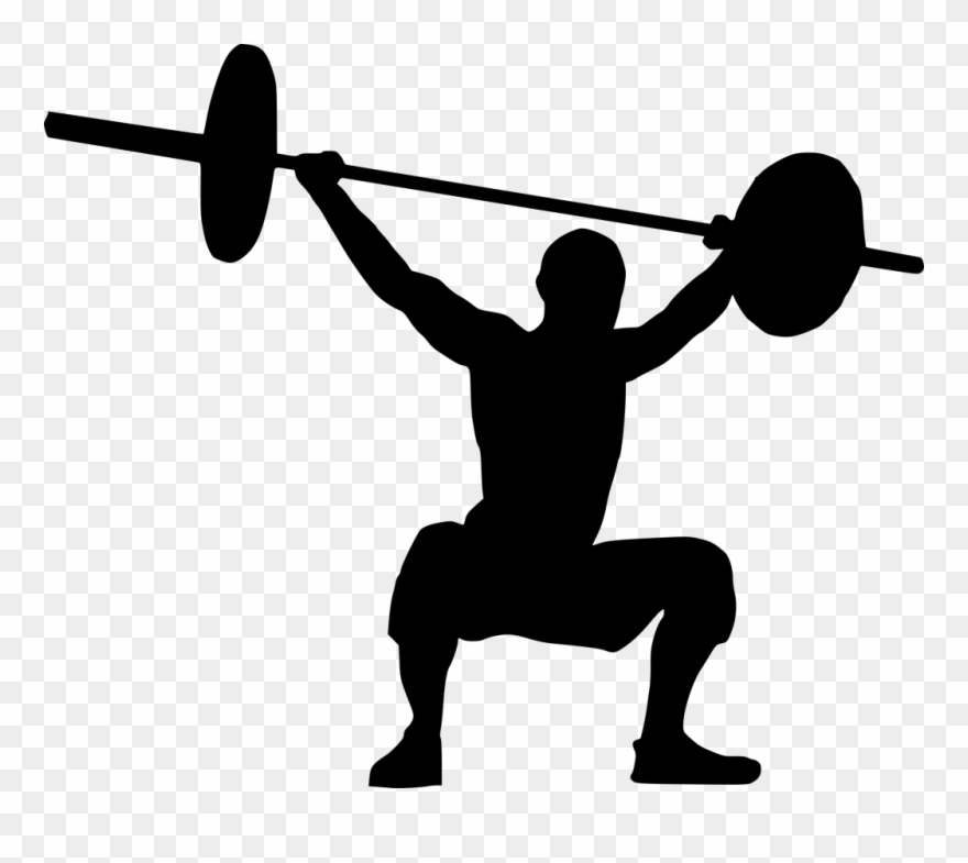 Weight Lifting Clipart Png Transparent Png (#1673596).
