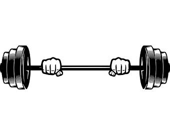 Barbell clipart barbell weight, Barbell barbell weight.
