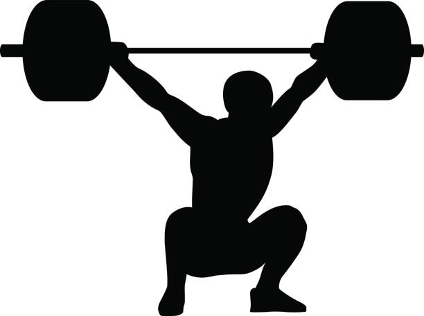 Best Weightlifting Illustrations, Royalty.