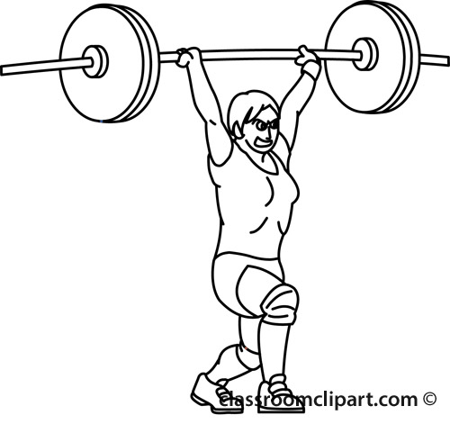 Free Weights Clipart Black And White, Download Free Clip Art.