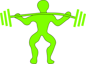 Weightlifting PNG, SVG Clip art for Web.