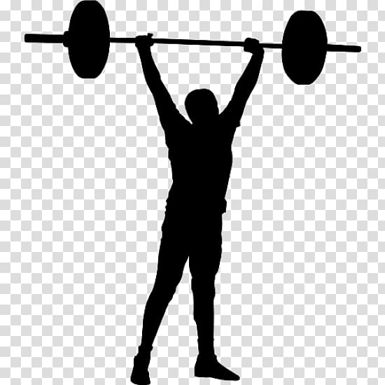 Olympic weightlifting CrossFit Weight training Sticker Sport.