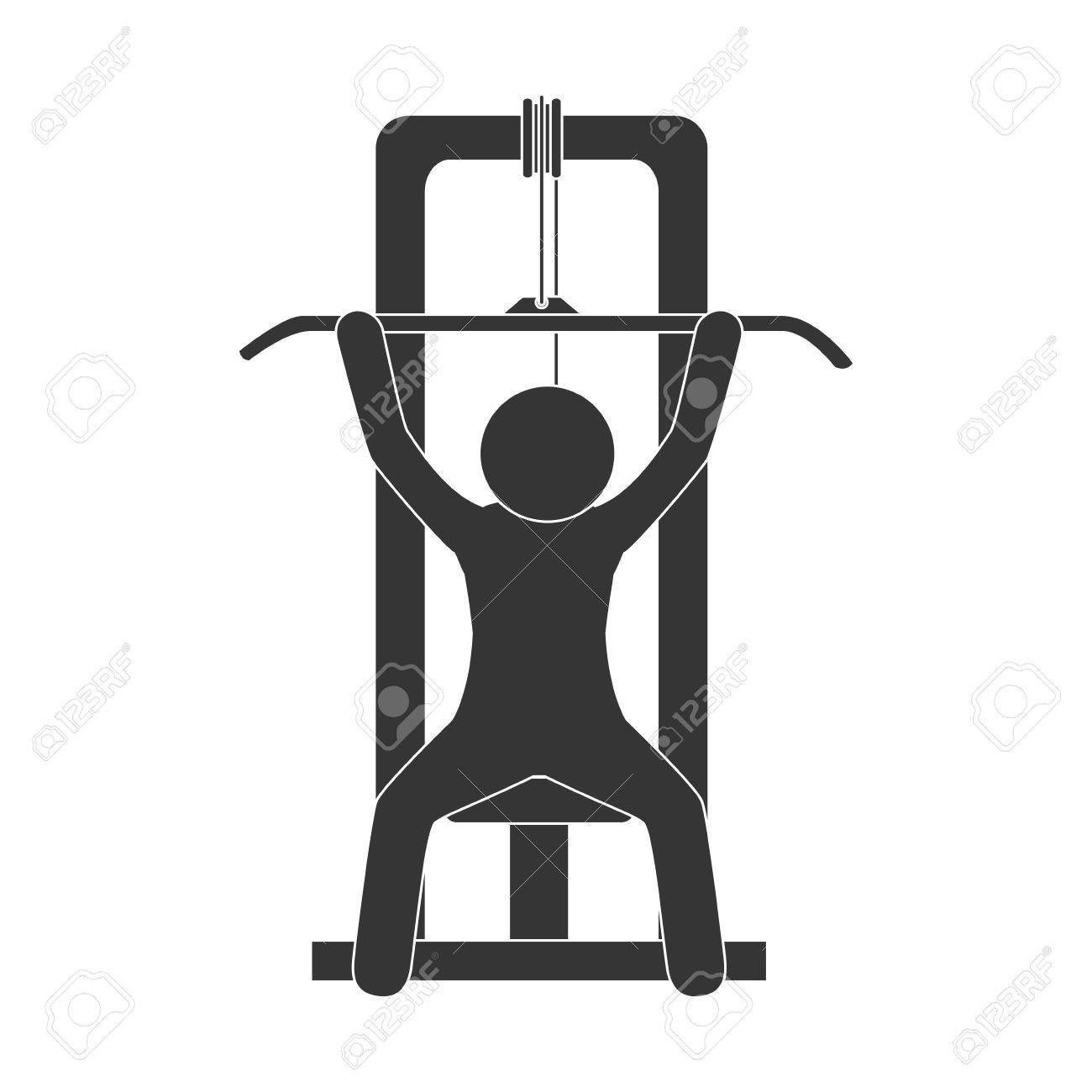 3069 Gym free clipart.