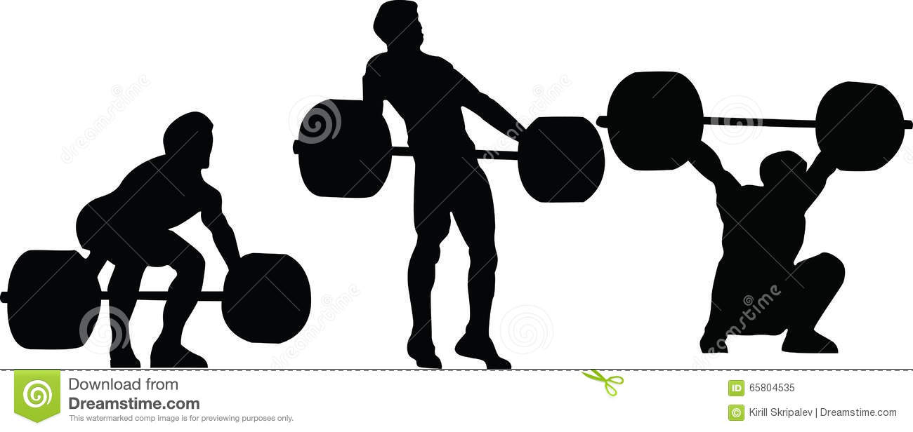 Weight Lifting Silhouette at GetDrawings.com.