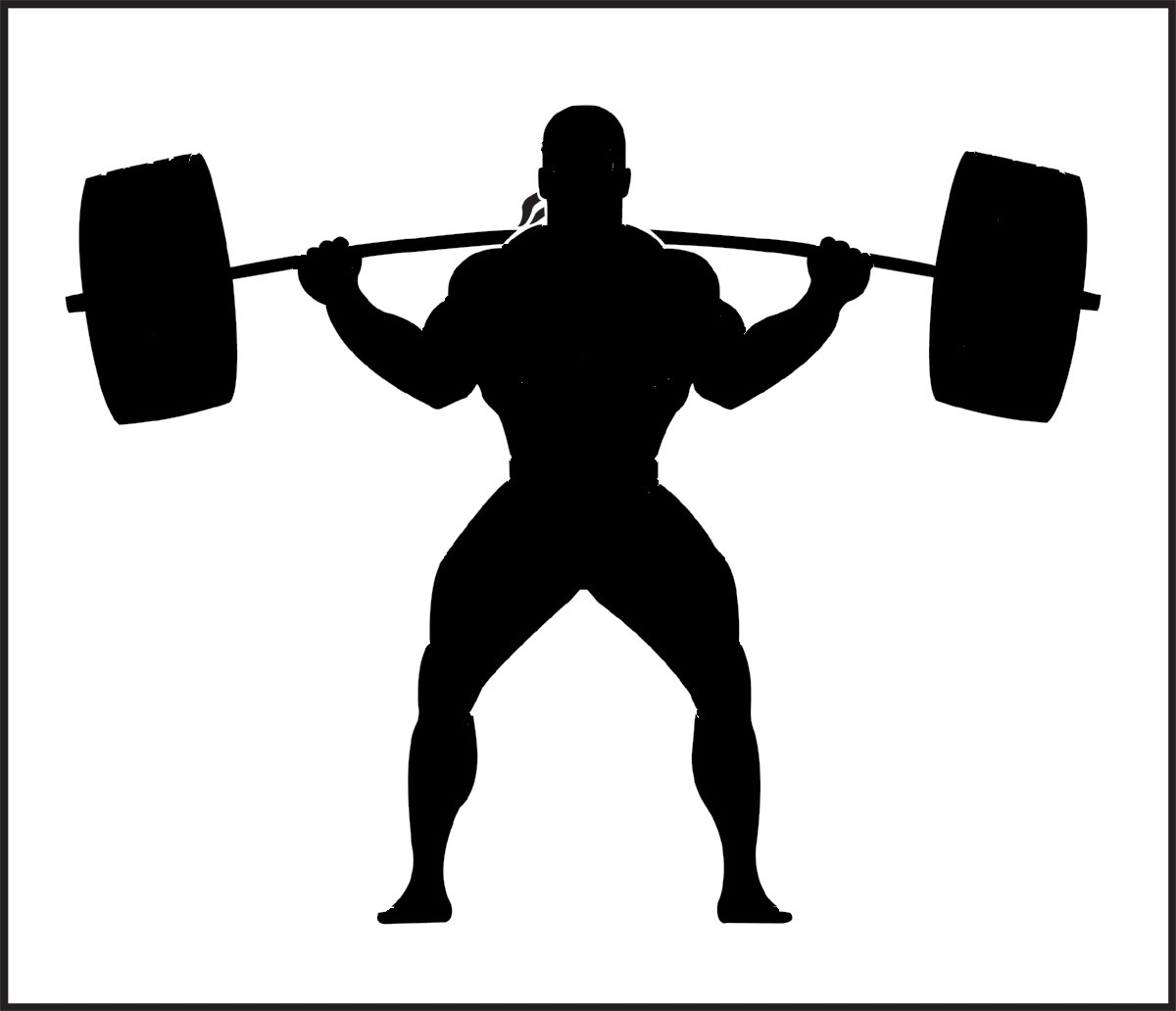 Collection of free Benching clipart squat. Download on.