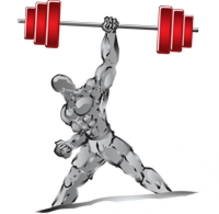 Muscle Weight training Dumbbell , barbell PNG clipart.