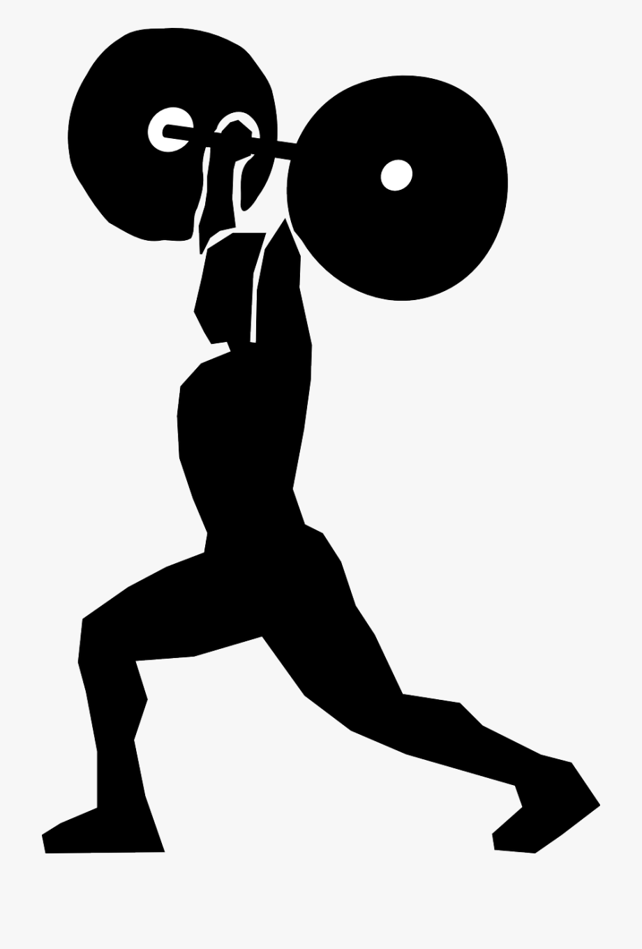 Lifting Clipart Weight Lifting Woman.