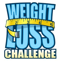 Weight Loss Challenge Clipart.