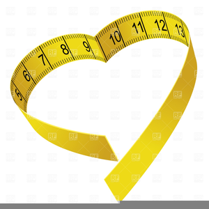Tape Measure Weight Loss Clipart.
