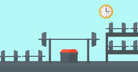 1,162 Workout Room Stock Illustrations, Cliparts And Royalty Free.