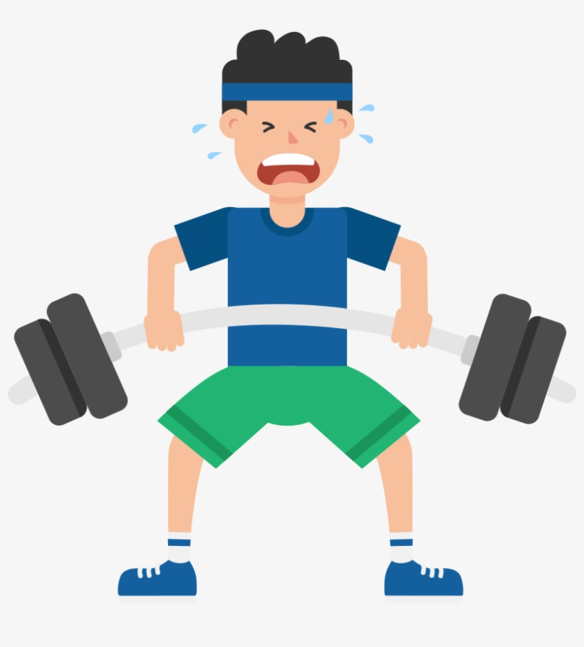 Vector Royalty Free Stock Dumbbell Clipart Weight Room.
