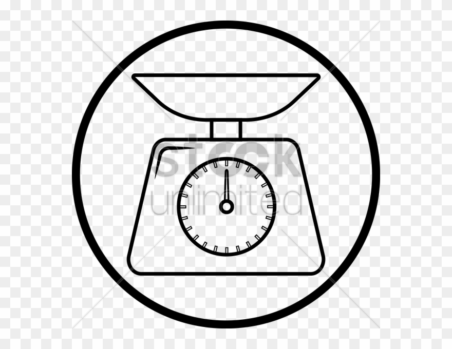 Weighing Scale Scale Drawing Clipart (#766264).