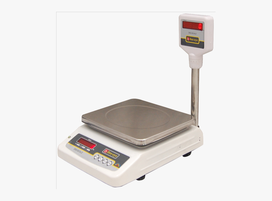 Scales Clipart Electronic Weighing Machine.