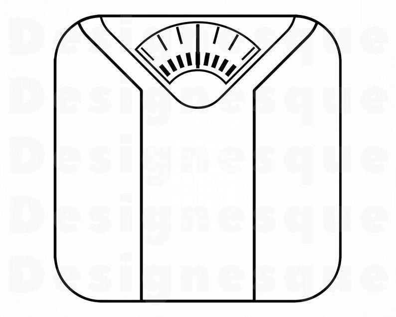 Weight Scales SVG, Diet SVG, Weight Loss Svg, Weight Scales Clipart, Weight  Scales Files for Cricut, Cut Files For Silhouette, Dxf, Png, Eps.
