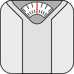 Bathroom Scale Clip Art at Clker.com.
