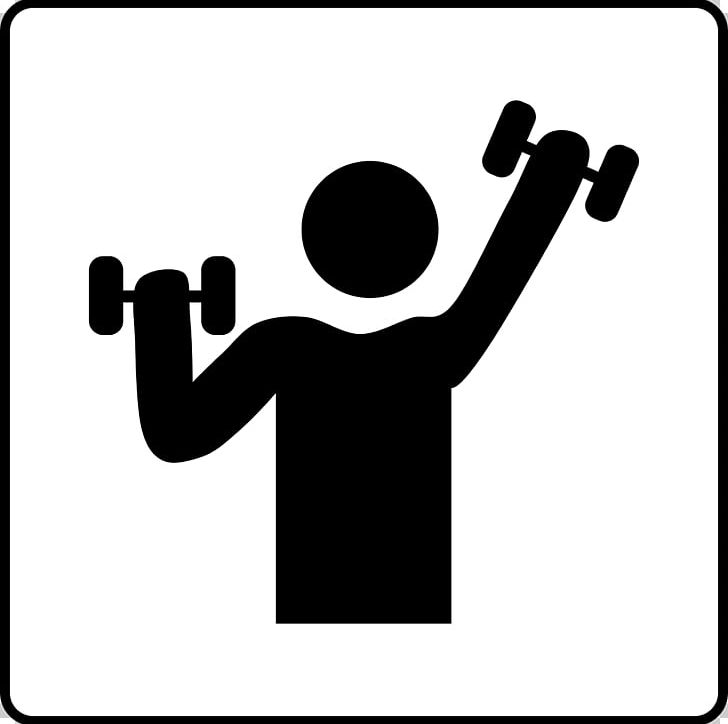 Fitness Centre Dumbbell Physical Fitness Weight Training PNG.