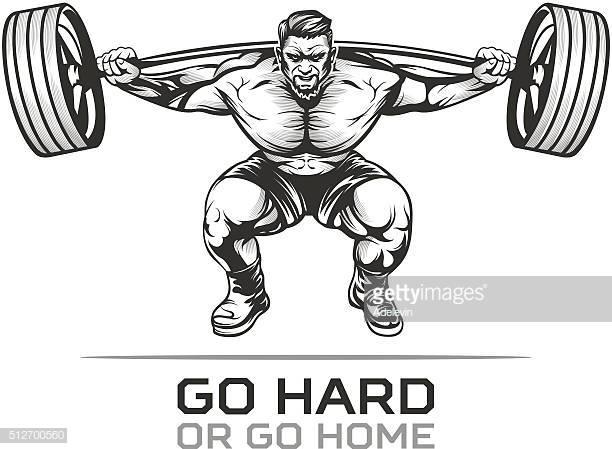 60 Top Weight Training Stock Illustrations, Clip art, Cartoons.