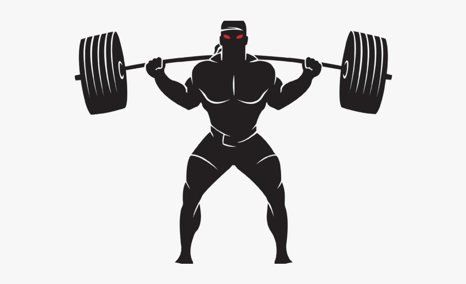 Weight Plates Clipart Power Lifting.