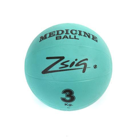 Bouncing Medicine Ball.