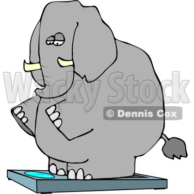 Weighting Clipart by Dennis Cox.