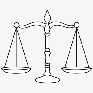 Weight Scale Coloring Page , Transparent Cartoon, Free.