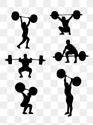 Weightlifting PNG Images.