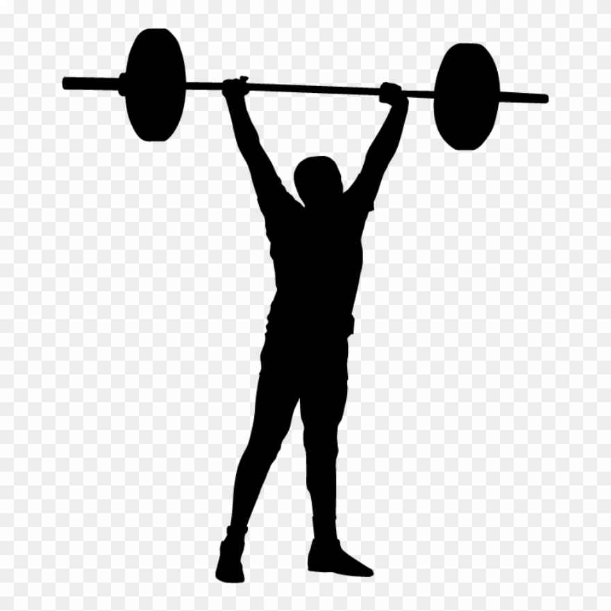 Olympic Clipart Weightlifting.