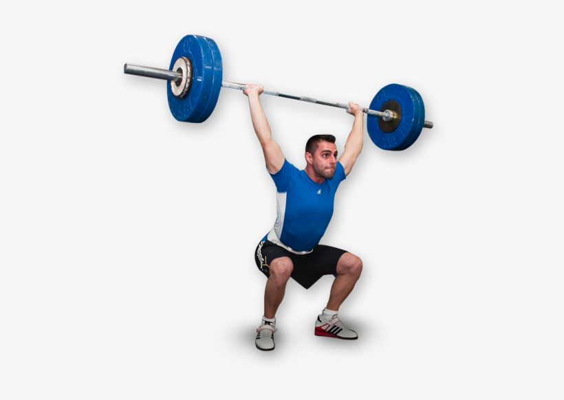 Weightlifting Free Png Image.
