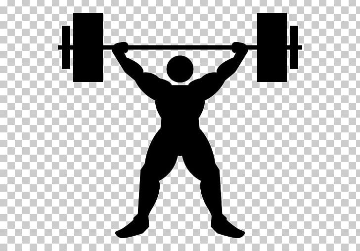 Olympic Weightlifting Weight Training Barbell Exercise PNG.