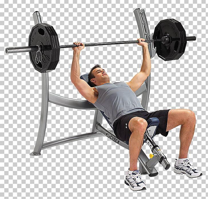 Bench Press Weight Training Cybex International Olympic.