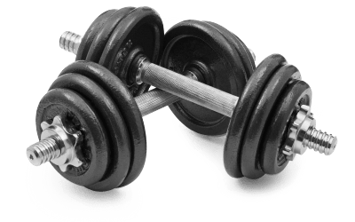 Small Weights transparent PNG.