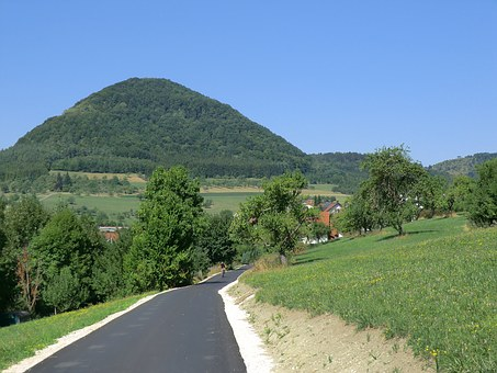 Radweg.