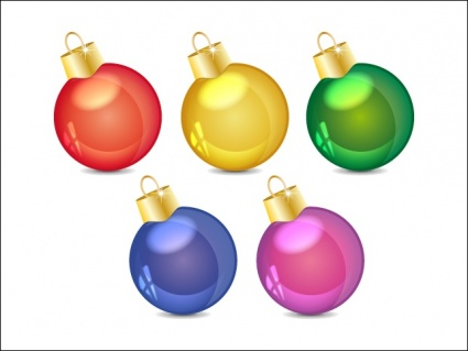Weihnachtskugel cliparts, kostenlose clipart.
