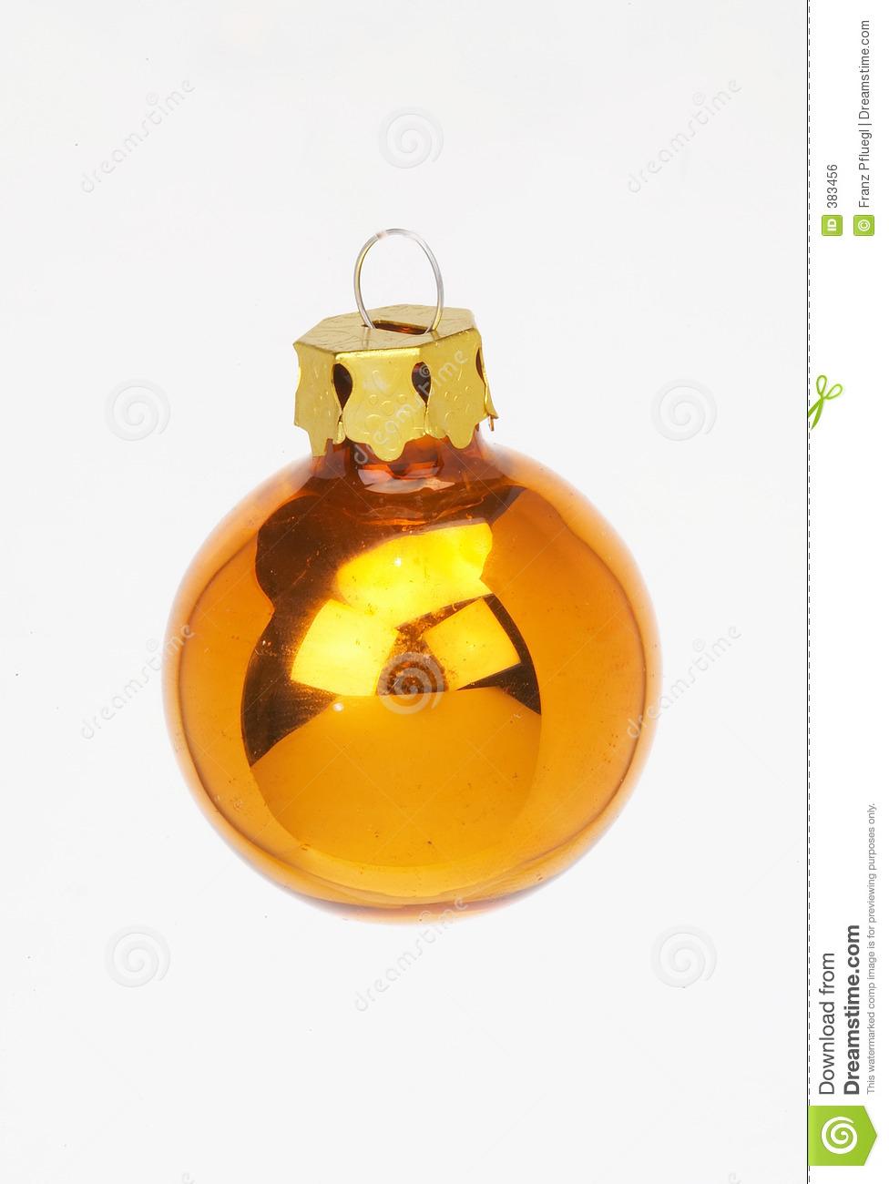 Christmas Decoration Golden Ball.