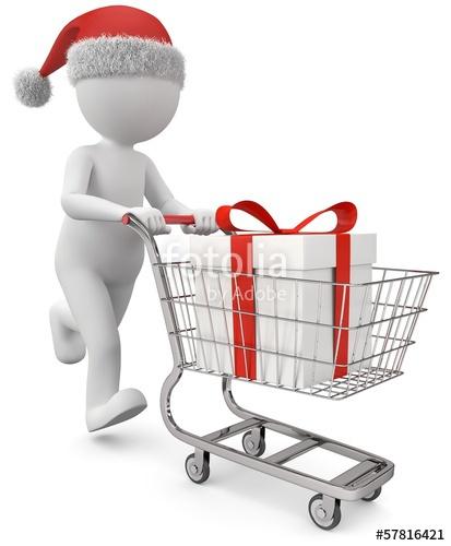 """Männchen Weihnachtsgeschenk kaufen"""" Stockfotos und lizenzfreie."""
